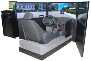 cost effective car driving simulator vs300