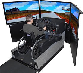 simulator car