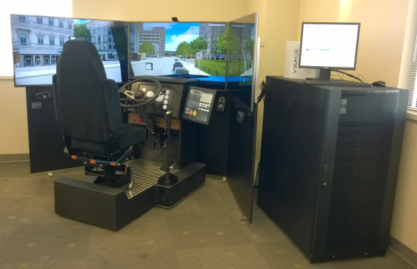 Truck driving simulator system vs600