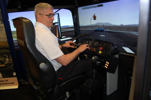 simulator training