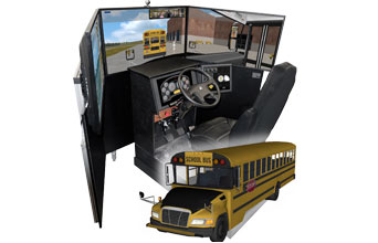 School Bus Driving simulator VS600M-B for School Bus operator