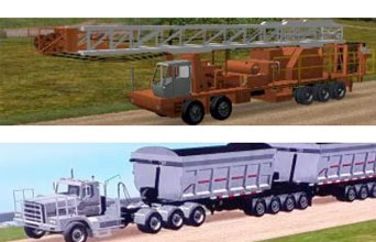 Vocational Vehicles and Special applications Mining, Construction, Oil Field, Forestry