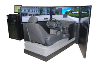 Car Simulator VS300 for Public demonstration Driving school Research