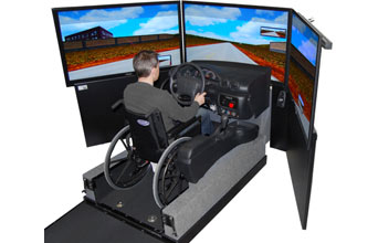 Car Simulator for Rehabilitation VS500M-R for Clinical Assessment Rehabilitation Center Research Center