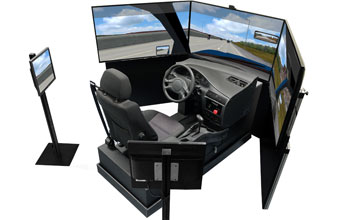 Car Simulator VS500M for Driving School Fleets Research Center Rehabilitation