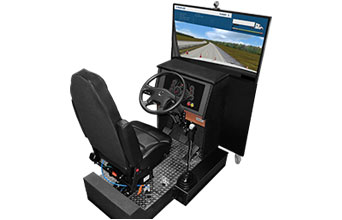 Truck Shifting Simulator VS60-S for Truck Driving School Training Center