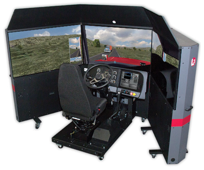 L3 Technologies' TranSim simulator courtesy of L3 Technologies