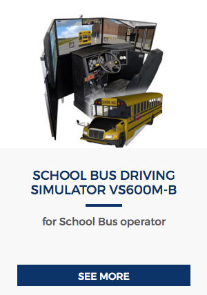 School Bus Driving simulator VS600M-B