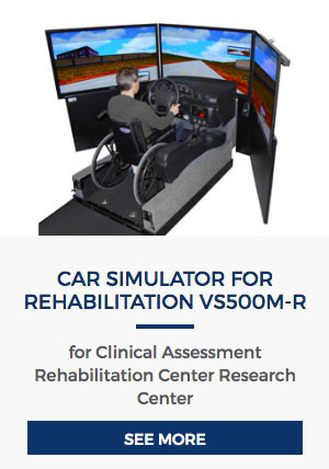 Car Simulator for Rehabilitation VS500M-R