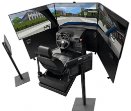 VS500M Car Simulator for Driving School, Fleets, Research Center, Rehabilitation